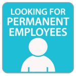 Looking for Permanent Employees