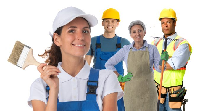Construction, Landscaping, Renovations and other Trades Job Site