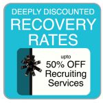 Save 50% on Recruiting Services